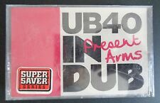 UB40 Present Arms In Dub SEALED Music Cassette 1981 Vintage NEW Remixes FREESHIP