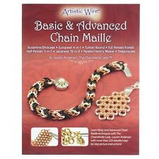 Basic y Advanced cadena Maille libro por Lauren Andersen (A24/6)