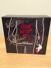 SIGNED Harry Manfredini Friday The 13th Limited Edition Box Set RARE + Pic LALaL