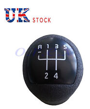 1x RENAULT NERO GEAR Shift KNOB LIFT REVERSE STICK FIT MEGANE CLIO sostituire OEM
