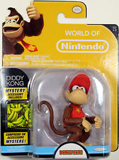 World of Nintendo ~ DIDDY KONG Action Figure ~ Donkey Kong Country