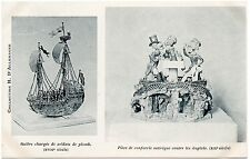 CPA Collection H. D'ALLEMAGNE + Galère chargée de soldats de plomb