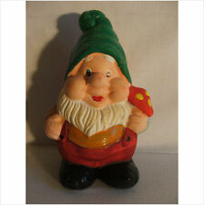 LATEX MOULD MOULDS MOLD.  CHUBBY GNOME WITH MUSHROOM  (2017)