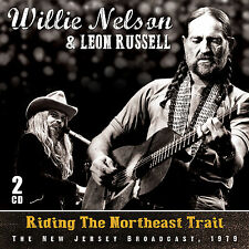 LEON RUSSELL & WILLIE NELSON New 2016 UNRELEASED 1979 LIVE CONCERT 2 CD SET