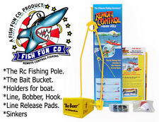 "Bait Boat  ""The Rc Fishing Pole""  ""Bait Bucket"""