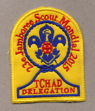23rd world scout jamboree CHAD CONTINGENT BADGE 2015