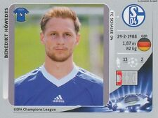 N°104 HOWEDES # DEUTSCHLAND SCHALKE 04 CHAMPIONS LEAGUE 2013 STICKER PANINI