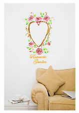 Wall Stencils Romantic Garden Stencil Template even better than wallpaper decals