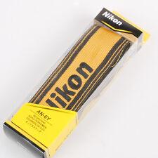 Nikon AN-6Y Nylon Wide Neck Strap Yellow For D5300 D7100 D810 D610 D800 D90 D300
