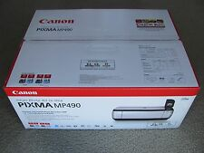 Brand New Canon PIXMA MP490 Inkjet Photo All-In-One Printer with Inks