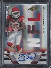 DEXTER MCCLUSTER 2010 ABSOLUTE RPM TRIPLE JERSEY BALL PATCH AUTO RC #D 219/299