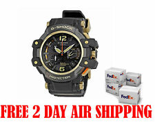 Casio G-Shock GPW1000GB-1A GravityMaster GPS Hybrid Wave Ceptor Black Gold Watch