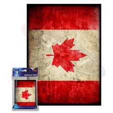 Max Protection 100 MTG standard Card Sleeves Deck Protector Flag Canada  Max Pro