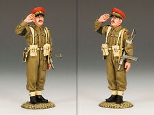 """KING AND COUNTRY Saluting British """"Redcap"""" M.P. D Day WW2 DD155"""