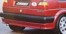 ZENDER Rear Lower Apron Under Bumper Spoiler, Golf 2 MK2 GTI 1985-1992