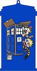 Calvin & Hobbes as Dr. Who Graphic T-shirt
