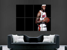 LEBRON JAMES BASKETBALL PLAYER USA  ART LARGE ART HUGE  GIANT POSTER PRINT