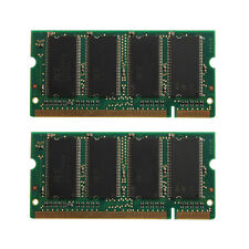 1GB 2X512MB PC2700 DDR 333 PC2100 266 200-PIN CL2.5 SODIMM LAPTOP MEMORY RAM