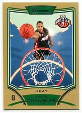 2008-09 Bowman Chrome Gold Refractor 138 Mario Chalmers Rookie 26/50