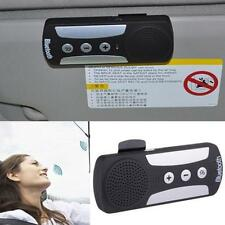 Car Kit Wireless Bluetooth Handfree Speakerphone Speaker With Charger Visor Clip