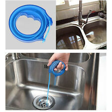 Polished Drain Sink Cleaner Bathroom Unclog Sink Tub Snake Hair Removal Tool