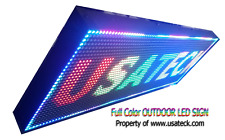 "Full Color P10 Outdoor / Indoor Programmable Digital LED , 25"" x 14"""