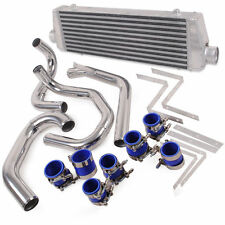 ALLOY FRONT MOUNT INTERCOOLER KIT FMIC FOR VW GOLF MK4 GTI BORA JETTA 1.8T 98-06