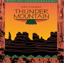 LN RARE! SCOTT FITZGERALD - Thunder Mountain: The Best of Thunderdrums 1995 CD