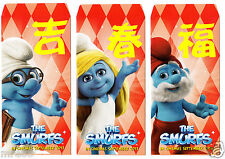 MRE * 2013 The Smurfs 3 in 1 CNY / Ang Pau / Red Packet #1