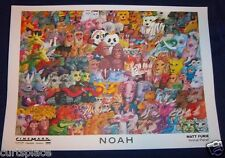 NOAH Original Matt Furie Animal Planet Movie Theater Poster 12x17 Free Shipping
