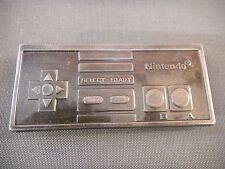 NES CONTROLLER METAL BUCKLE - Belt Pewter - Nintendo Super Gamepad Joystick 2008