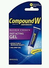 2x Compound W Wart Remover Fast-acting Gel,  7g each