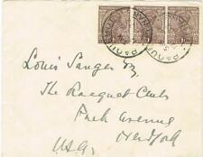 Malaya STRAITS SETTLEMENTS-PAQUEBOT PENANG 17/JA/1932-India SG#234