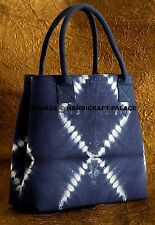 Fashion Women Shoulder Bag Tie Dye Shibori Tote Handbag Purse Messenger Canvas