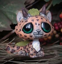 Littlest Pet Shop chibi baby jaguar Dragon Forest Spirit OOAK custom figure LPS