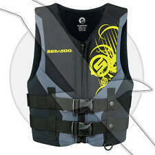 Sea Doo Jr Freewave Youth Neo Teen Neoprene PFD Vest Life Jacket Seadoo 50-90lb