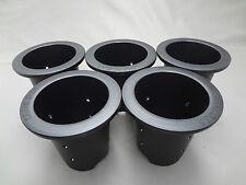Japanese 'Rohdea japonica' plastic pot-Omoto-(Short 5pcs) 3.5