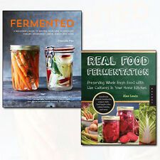 Real Food Fermentation Preserving Whole Fresh Food 2 Books Set Fermented NEW