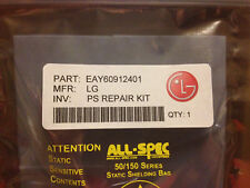 LG Power Supply Repair Kit EAY60912401 for 42PJ models [repairs clicking noise]