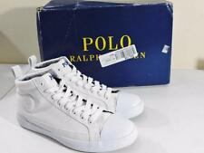 Polo Ralph Lauren Men's Clarke Lace-Up Canvas Sneakers NIB Size 8.5D MSRP $65