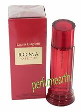 ROMA PASSIONE BY LAURA BIAGIOTTI FOR WOMEN 3.3/3.4 OZ EDT SPRAY NEW IN BOX