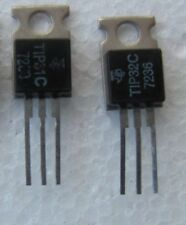 TIP31C + TIP32C, Complimentary pair, TRANSISTOR TO-220