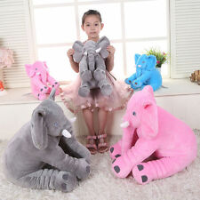 Hot 1Pc Baby Long Nose Elephant Doll Pillow Soft Plush Stuff Toys Lumbar Pillow