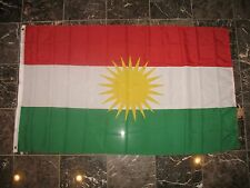 3x5 Kurdistan Rough Tex Knitted Flag 3'x5' Banner