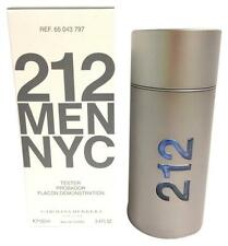 212 NYC Herrera By C.H Men 3.4 oz 100 ml *Eau De Toilette* Spray New