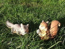 LATEX MOULD MOULDS MOLD.   SET OF 2 CUTE SQUIRRELS  (2017)