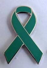 ***NEW*** Ovarian Cancer Awareness ribbon enamel badge.Charity.