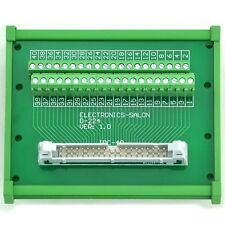 IDC-40 DIN Rail Mounted Interface Module, Terminal Block.