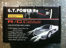 GT Power 12 LED 1:10 Drift On Road RC Car LED Lighting System Kit Yokomo Tamiya
