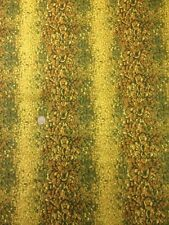 100% Cotton Quilting Fabric South African Floral Stripe Benartex Nature Scapes
